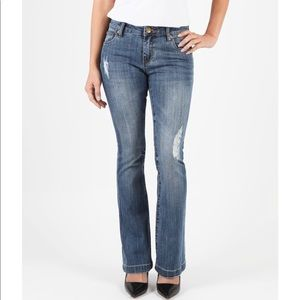 Kut from the Kloth Chrissy Flare Petite Jeans 6p
